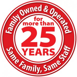 Family Owned for more tha 25 years