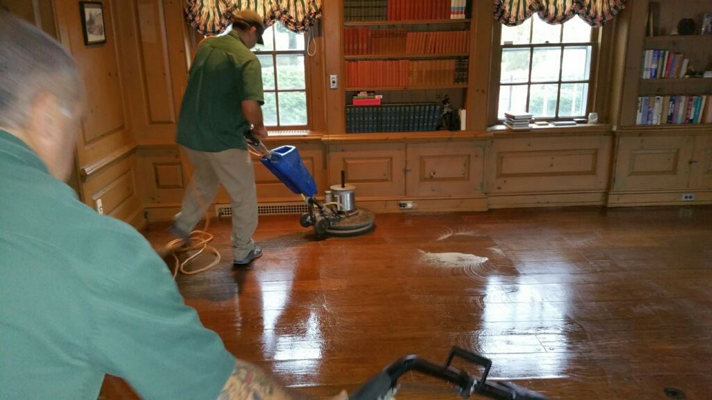 Hardwood floor cleaning services jersey steamer cleaning for Hardwood floors dull after cleaning