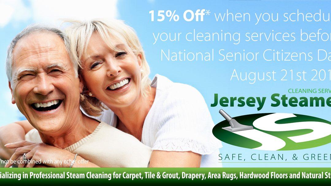 Senior Citizen Day Discount – Offer extended thru 8/31/17